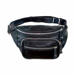 Bonney-Blue Moneybelt Billionaire Smooth Black