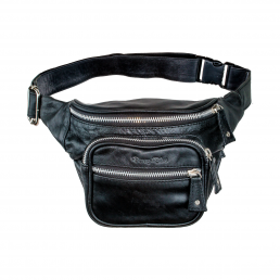 Bonney-Blue Moneybelt Millionaire Smooth Black